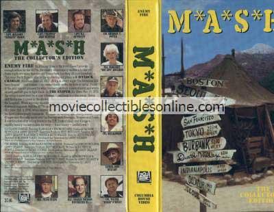 M*A*S*H VHS - 5 O'Clock Charlie, Sniper, Crisis
