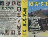 M*A*S*H VHS - Bananas Crackers & Nuts, Divided We Stand, Dr. Pierce & Mr. Hyde