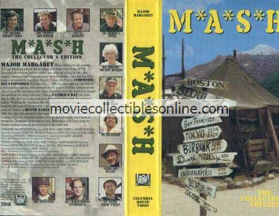 M*A*S*H VHS - Cementing Relationships, Father's Day, Death Takes a Holiday