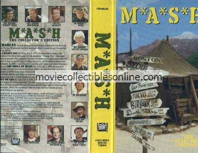 M*A*S*H VHS - Change Day, Smell of Music, Out of Gas