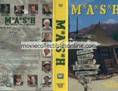 M*A*S*H VHS - Dear Dad, Dear Dad... Again, Dear Dad... Three