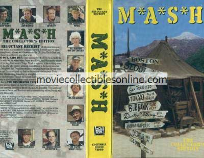 M*A*S*H VHS - Fade Out Fade In, Winchester Tapes