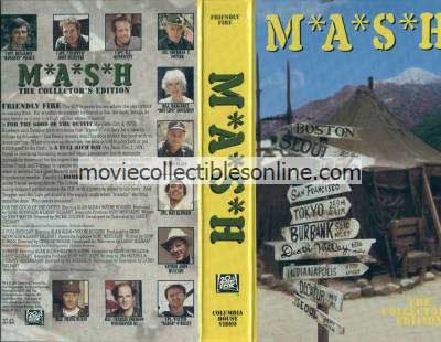 M*A*S*H VHS - For the Good of the Outfit, Full Rich Day, Bombed