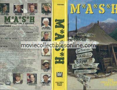 M*A*S*H VHS - Foreign Affairs, Run for the Money, U.N. the Night & the Music