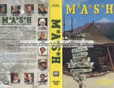 M*A*S*H VHS - Henry Please Come Home, Trial of Henry Blake, Alcoholics Unanimous