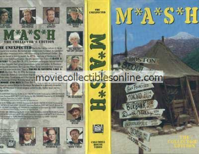 M*A*S*H VHS - I Hate a Mystery, There Is Nothing Like a Nurse, of Moose & Men