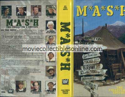 M*A*S*H VHS - It Happened One Night, Bug-Out