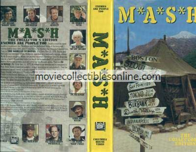 M*A*S*H VHS - Korean Surgeon, 38 Across, Ping Pong