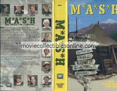 M*A*S*H VHS - Last Laugh, B.J. Papa San, Yalu Brick Road