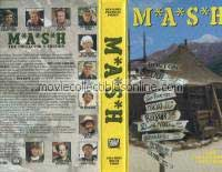 M*A*S*H VHS - Late Captain Pierce, Hawkeye, Hawk's Nightmare
