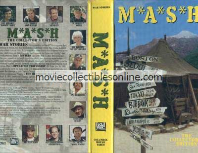 M*A*S*H VHS - Letters, Operation Friendship, Red/White Blues