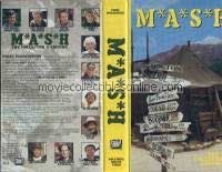 M*A*S*H VHS - Longjohn Flap, For Want of a Boot, Adam's Rib