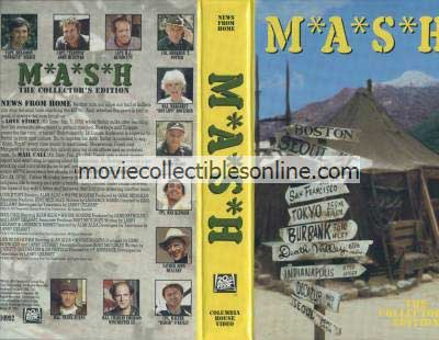 M*A*S*H VHS - Love Story, Mail Call, Life with Father