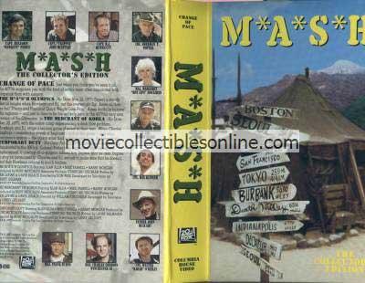 M*A*S*H VHS - M*A*S*H Olympics, Merchant of Korea, Temporary Duty