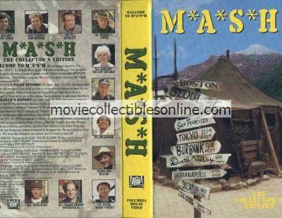 M*A*S*H VHS - Pilot, Radar's Report, Bulletin Board