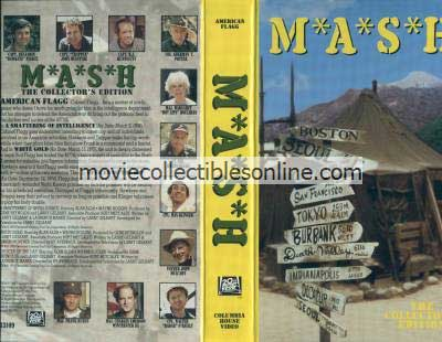 M*A*S*H VHS - Smattering of Intelligence, White Gold, Officer of the Day