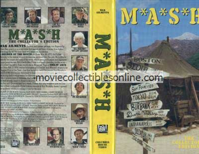 M*A*S*H VHS - Soldier of the Month, Smilin' Jack, Hepatitis