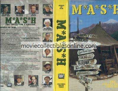 M*A*S*H VHS - Some 38th Parallels, Price of Tomato Juice, Souvenirs