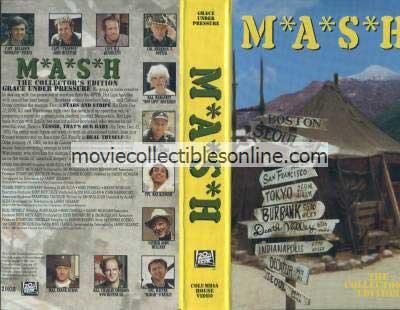 M*A*S*H VHS - Stars & Stripe, Yessir That's Our Baby, Heal Thyself