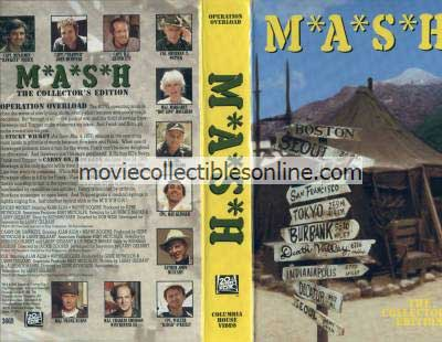 M*A*S*H VHS - Sticky Wicket, Carry On Hawkeye, O.R.
