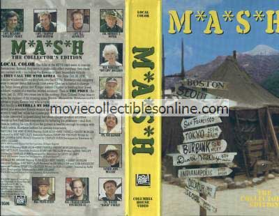 M*A*S*H VHS - They Call the Wind Korea, Price, Guerilla My Dreams
