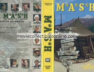 M*A*S*H VHS - 'Twas the Day after Christmas, Birthday Girls, Holy Mess